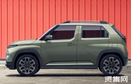 现代全新SUV CASPER官图公布,整车定位让人想到吉姆尼等车型