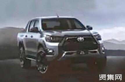 丰田发布海拉克斯Revo GR车型,采用GR运动套件,整体更具战斗风格