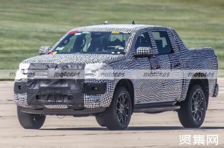 全新一代大众Amarok路试谍照曝光,基于福特Ranger车型进行打造的