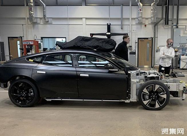 中大型纯电动轿车 极星Precept量产版首次曝光