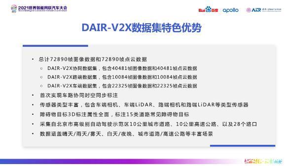 全球首个车路协同 DAIR-V2X 数据集正式发布
