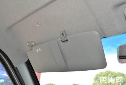 汽车遮阳板工作原理及被动安全方案设计