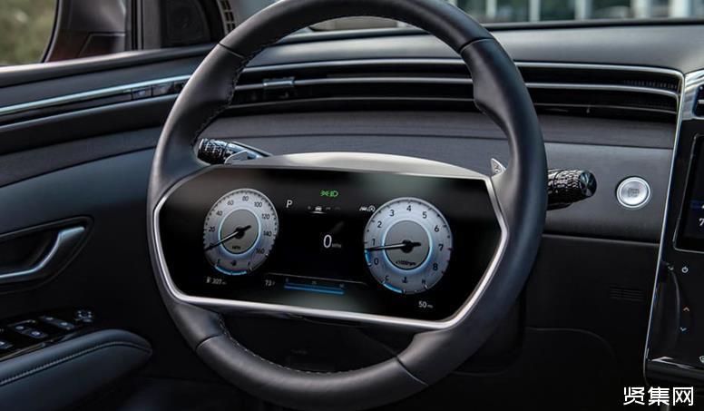 现代汽车新专利:在方向盘上安装显示屏 去除传统仪表盘