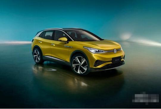 上汽大众首款MEB平台纯电动车ID.4 X开启预订,尊享八重驾享光速福利