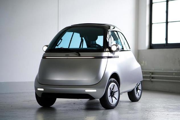 三轮宝马Isetta重生!这是最复古的纯电动汽车