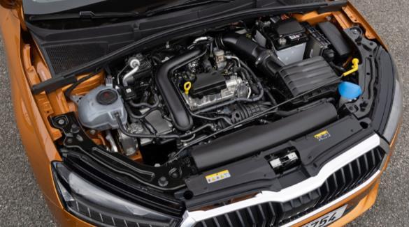 新型ŠKODA FABIA搭载高效EVO发动机 可降低油耗并提升续航里程