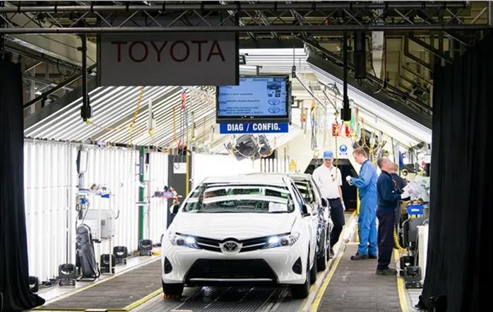 新一轮缺芯减产潮来袭,丰田不再应对自如,车企纷纷相继减产
