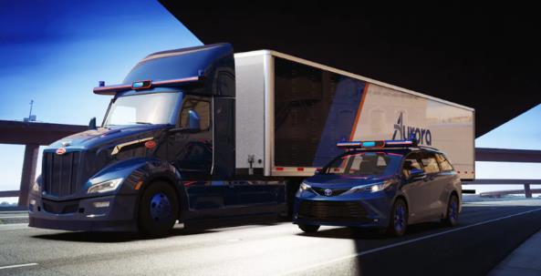 Aurora推出下一代商用硬件 可大规模部署Aurora Driver