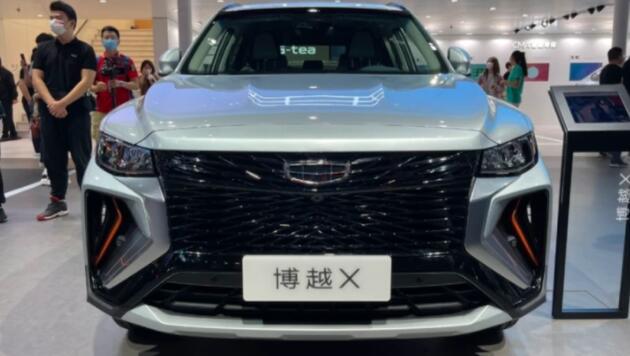 吉利博越X成都车展亮相,售价12.68万