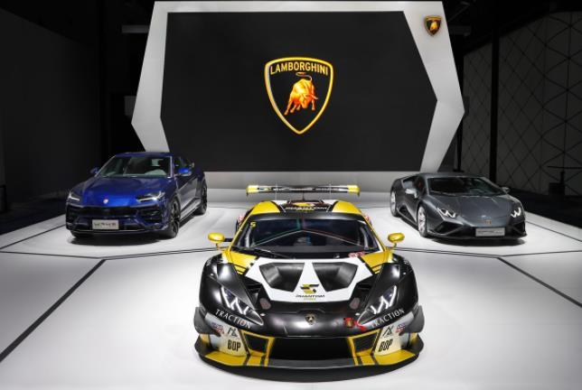 兰博基尼携三款车型亮相第24届成都国际汽车展览会