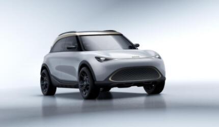 全新smart精灵#1概念车全球首秀,以轻奢风尚融合明日科技