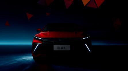 吉利推出首款采用能量风暴新设计风格的轿车———帝豪L,基于BMA架构打造