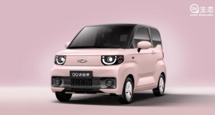奇瑞QQ冰淇淋车身颜色图公布,新增6种车身配色