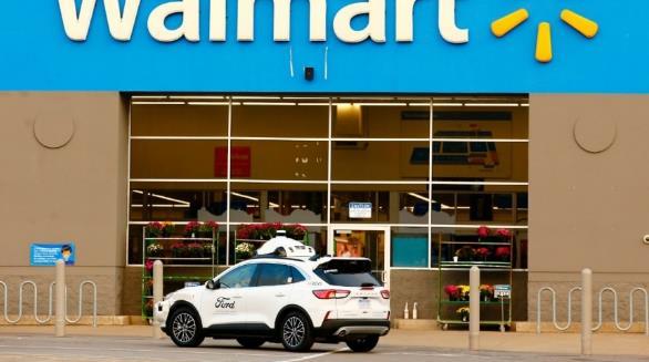 福特、Argo AI和沃尔玛联合测试自动驾驶配送服务
