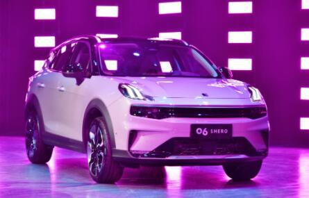 领克06正式上市,共推出三款车型,售价13.98-16.38万元