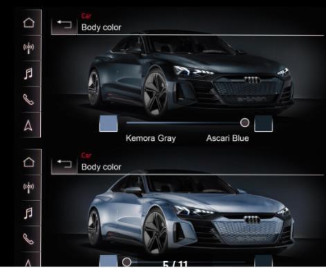 奥迪开发颠覆性变色涂料技术 只需按一下按钮就可以改变车身颜色