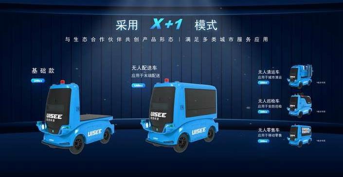 驭势科技发布L4自动驾驶解决方案UiBox 首款无人配送车落地