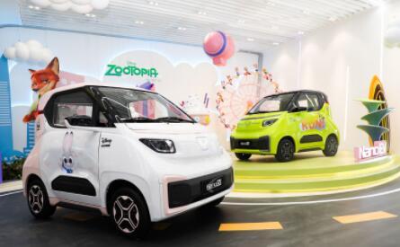 五菱NanoEV迪士尼疯狂动物城限定款将于9月29日在2021天津车展亮相并上市