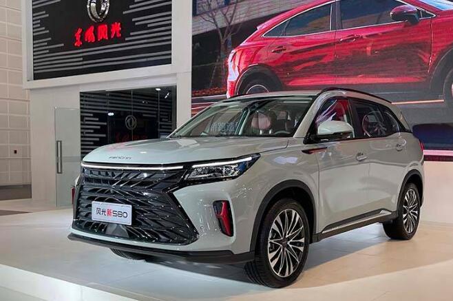 2021天津车展:全新风光580正式亮相
